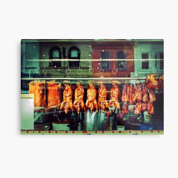 Chinese Restaurant Metal Print