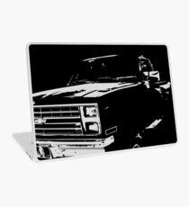 """""""Weiter Truckin '"""" Vintage Chevy Silverado Laptop Folie"""