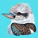 Kookaburra Gaze by Linda Callaghan