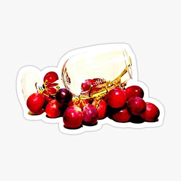 Grapes Anticipation Sticker