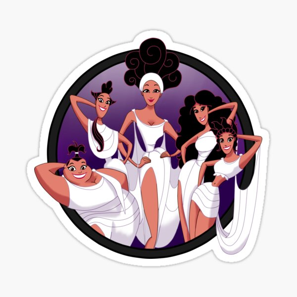 ZOOM 5 Muses Sticker