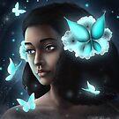 The Little Blue Fairy by StellaRinaldo