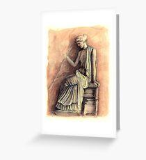 A Goddess Greeting Card