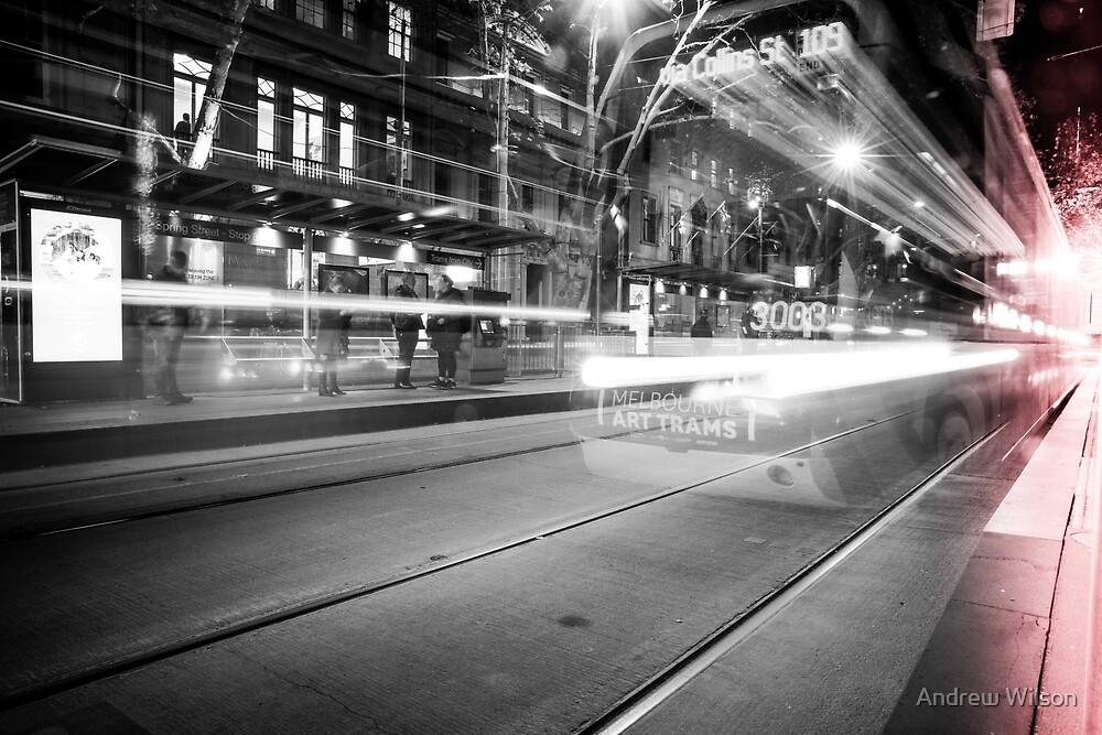 Ghost Tram by Andrew Wilson