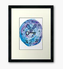 Flying Keys Framed Print