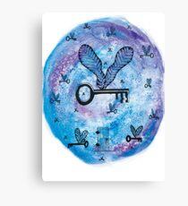 Flying Keys Canvas Print