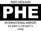 Port Hedland Airport PHE by AvGeekCentral