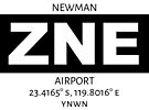 Newman Airport ZNE by AvGeekCentral