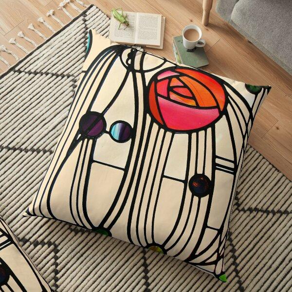 Charles Rennie Mackintosh - Window Floor Pillow