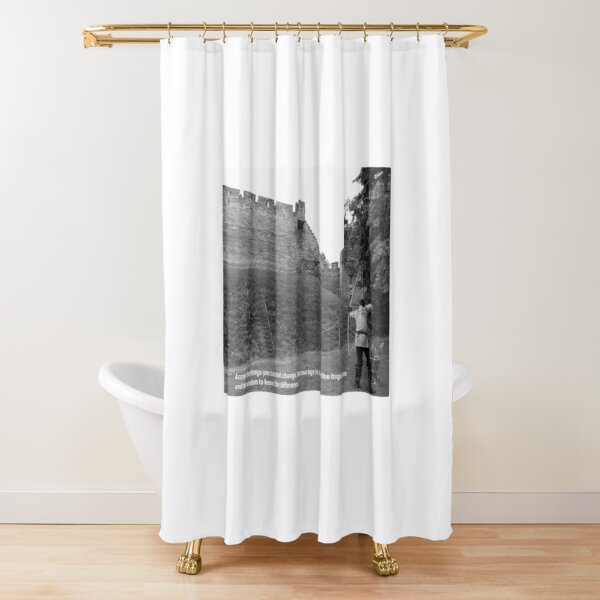 Knowing your potential Shower Curtain