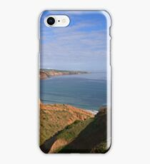Hills above the water iPhone Case/Skin