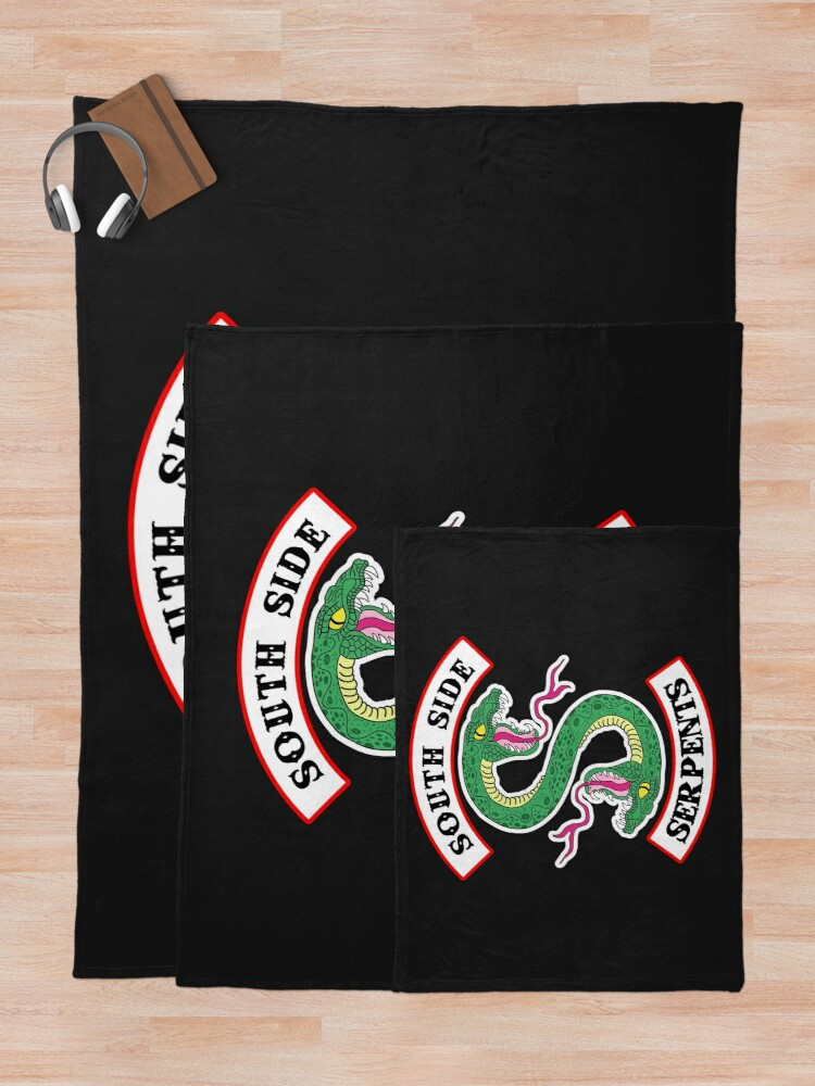 Alternate view of Southside Serpents Throw Blanket