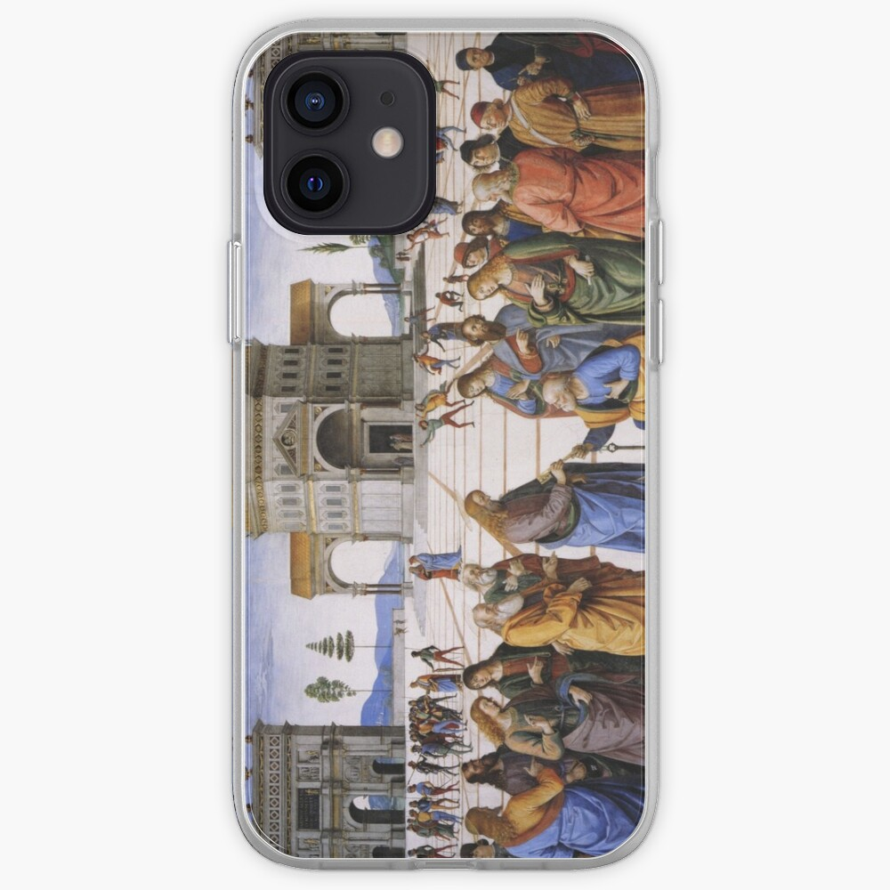 The Delivery of the Keys Painting by Perugino Sistine Chapel iPhone Case & Cover