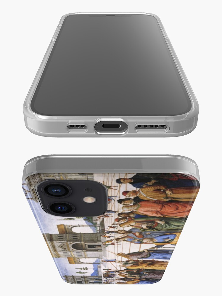 Alternate view of The Delivery of the Keys Painting by Perugino Sistine Chapel iPhone Case & Cover