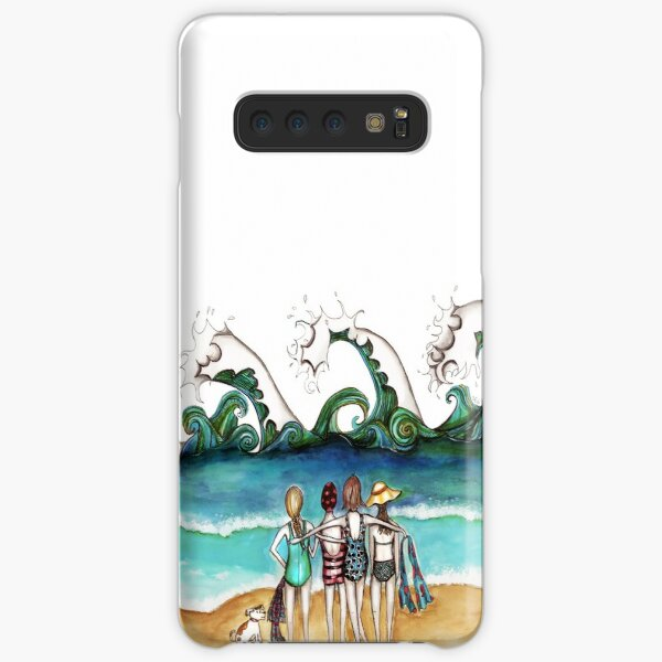 Four and a dog Samsung Galaxy Snap Case