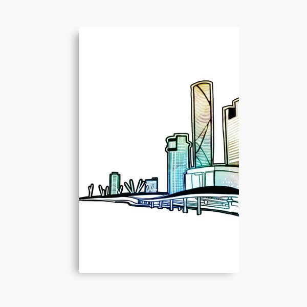Brisbane City Australia - A Cityscape Canvas Print