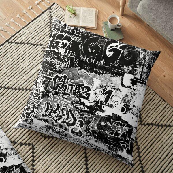 Graffiti Floor Pillow
