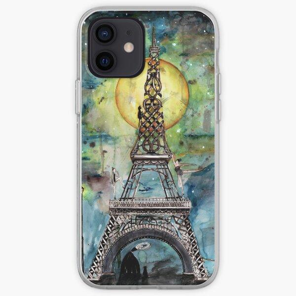 Paris... only light destroys darkness iPhone Soft Case