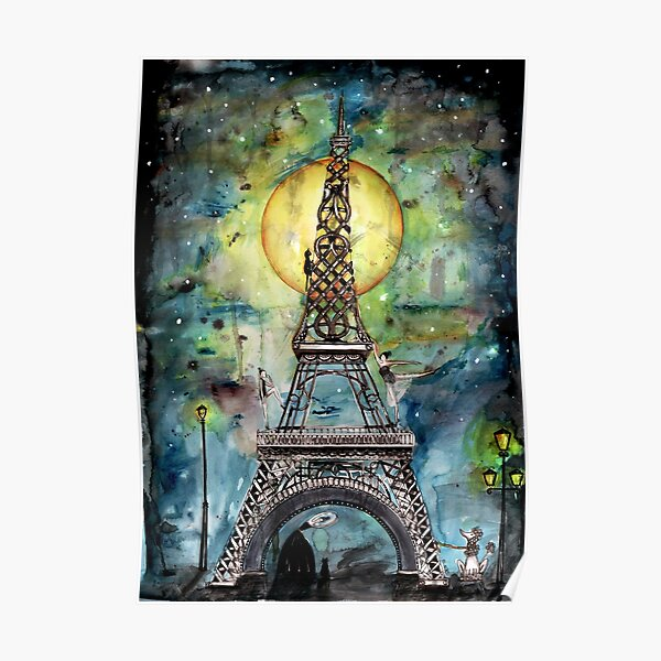 Paris... only light destroys darkness Poster