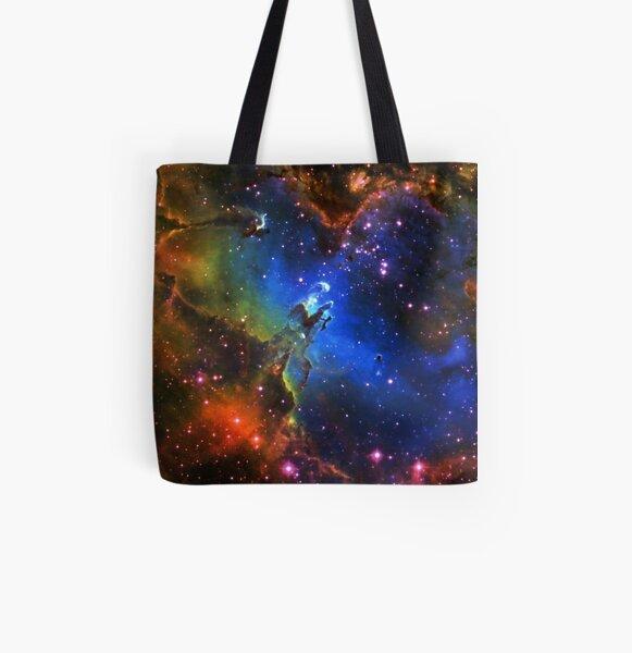Galaxy Eagle All Over Print Tote Bag