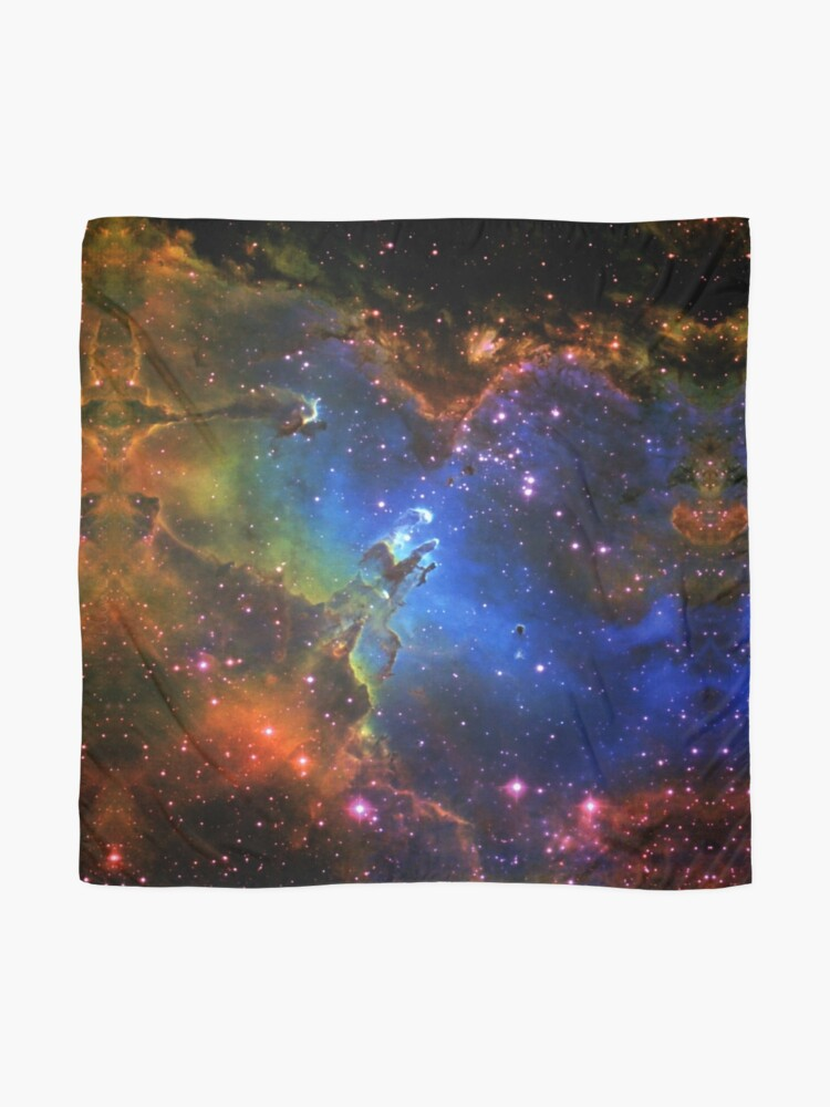 Alternate view of Galaxy Eagle Scarf