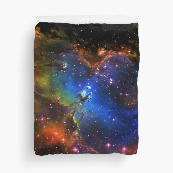 Galaxy Eagle Duvet Cover