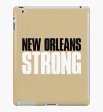 New Orleans Strong Sports Fan iPad Case/Skin
