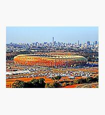 SoccerCity / FNB Stadium Johannesburg Photographic Print