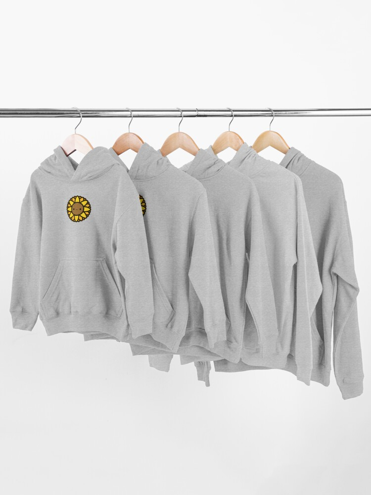 Alternate view of Cute sunflower Kids Pullover Hoodie