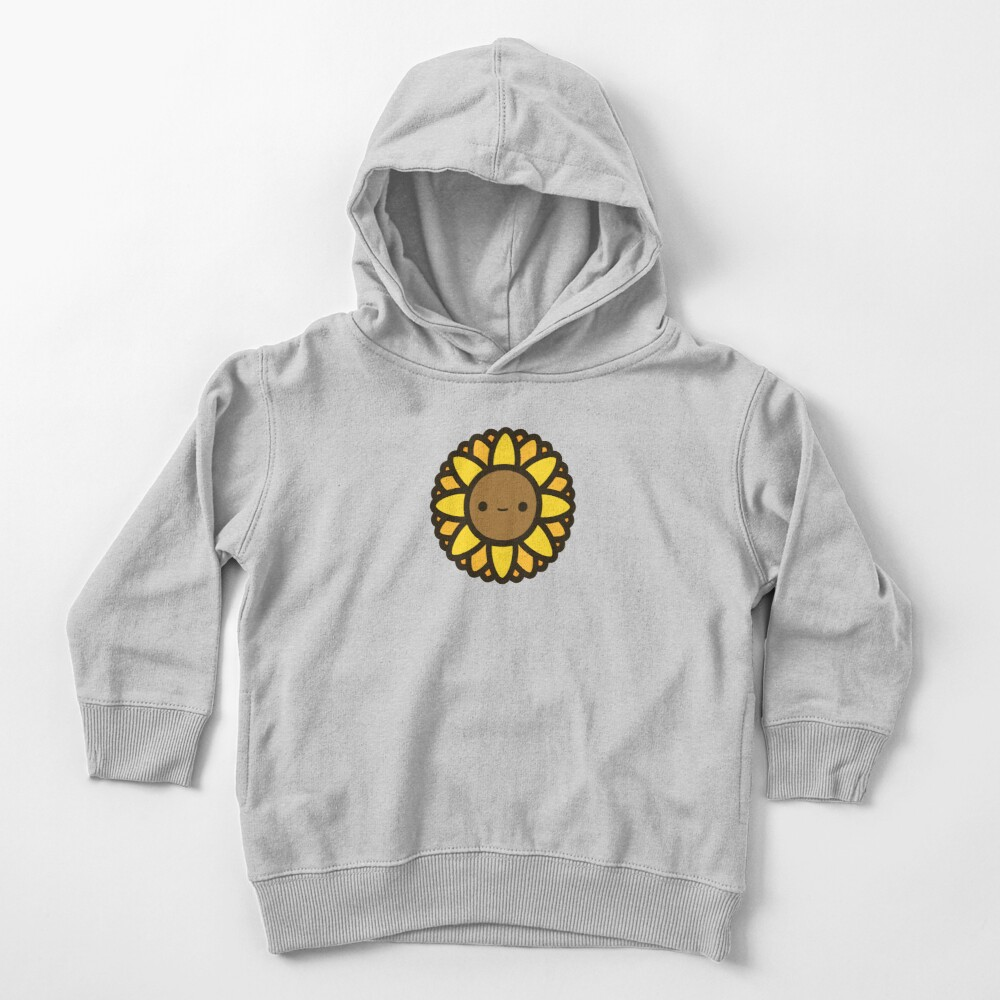 Cute sunflower Toddler Pullover Hoodie