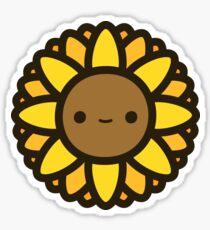 Cute sunflower Sticker