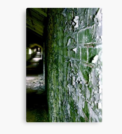 West Park - Green Canvas Print