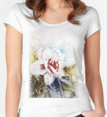 Floral Fantasy Fitted Scoop T-Shirt