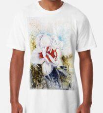 Floral Fantasy Long T-Shirt