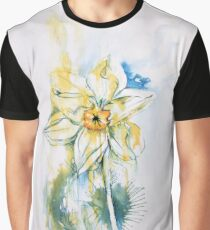 Daffodil Dance Graphic T-Shirt