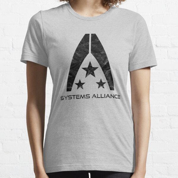 Systems Alliance Logo inspired by Mass Effect Essential T-Shirt