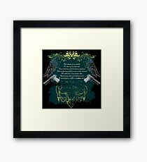 Boondock Saints - Prayer Framed Print