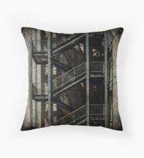 Upstairs Downstairs Throw Pillow