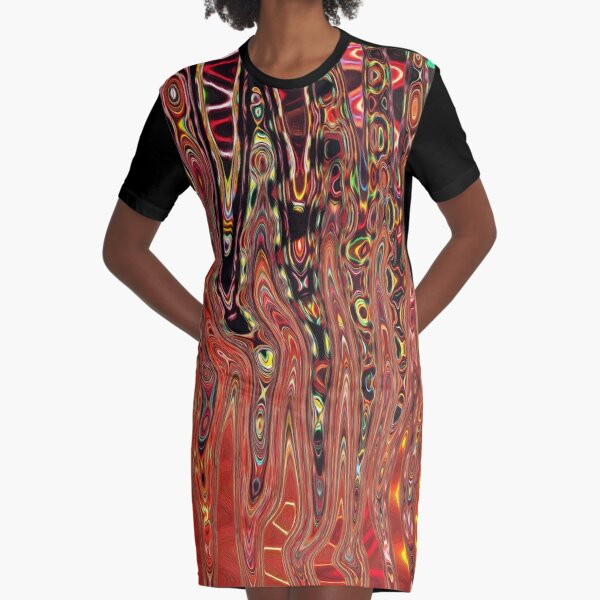 Tribal Connection Graphic T-Shirt Dress