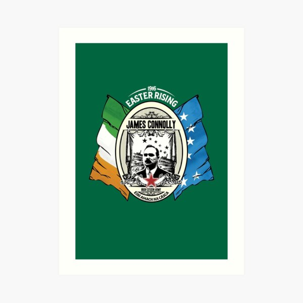 James Connolly - Irish Citizen Army Art Print