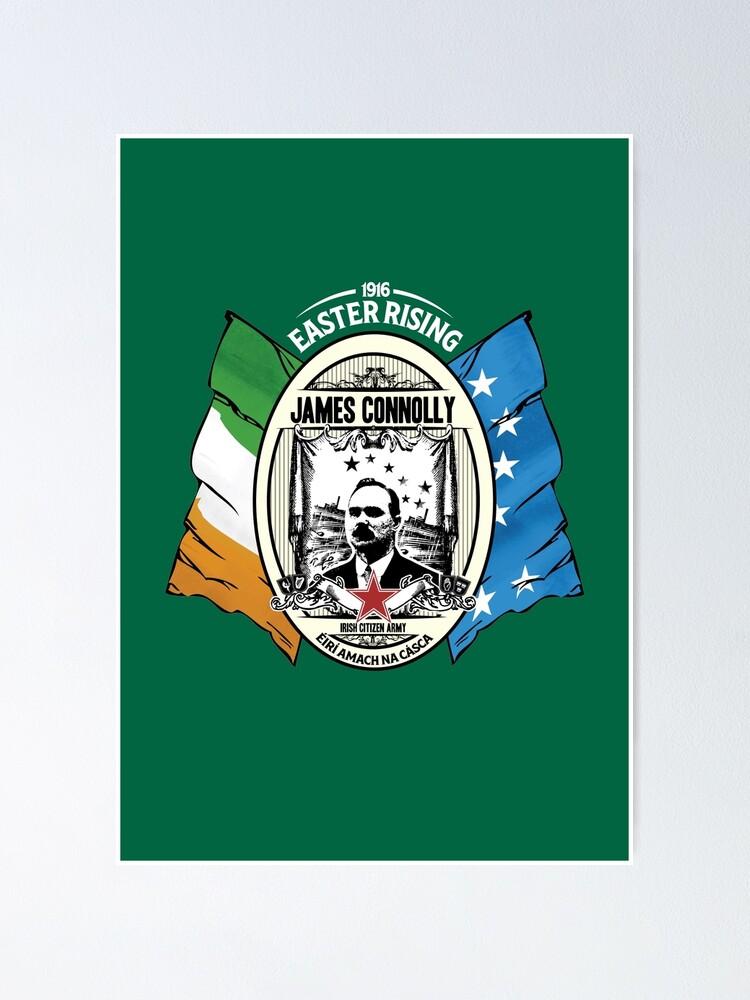 Irish Republican 1916 Easter Rising James Connolly Pin Badge