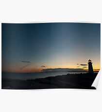 Peggy`s Cove at Twilight Poster