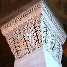 Hagia Sophia Column by Laurel Talabere