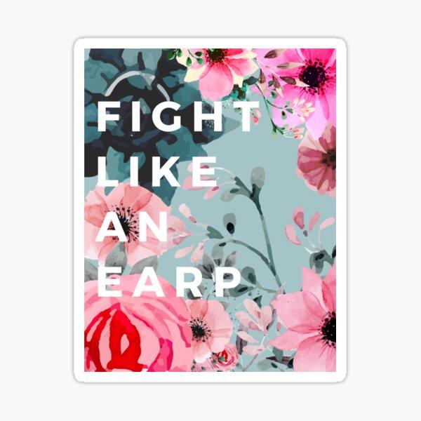 FIGHT LIKE AN EARP Sticker