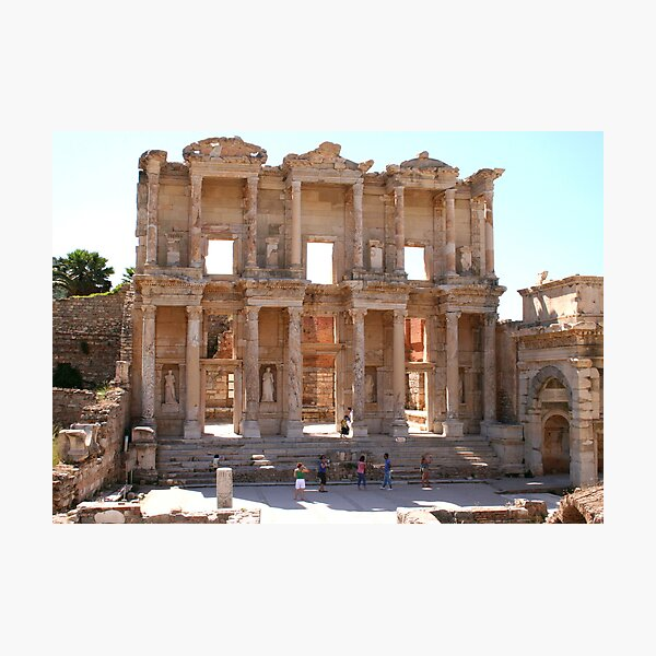 Library of Celsus Photographic Print