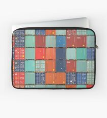 Rotterdam Harbour - Containers Laptop Sleeve