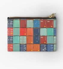 Rotterdam Harbour - Containers Studio Pouch