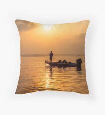 schönen Sonnenaufgang Throw Pillow