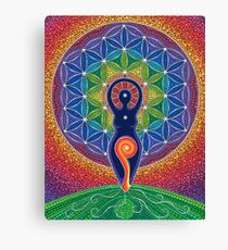 Goddess of the World Canvas Print