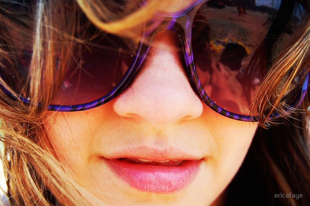 Sunglasses Portrait by ericafaye